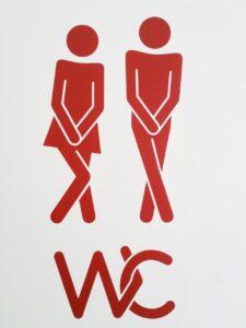 pair, wc, toilet