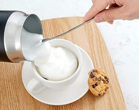 cafe con espuma de leche