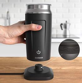 como hacer espuma para el cafe