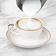 como hacer espuma para la leche