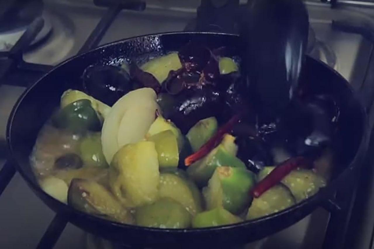 receta de salsa de chile con cafe